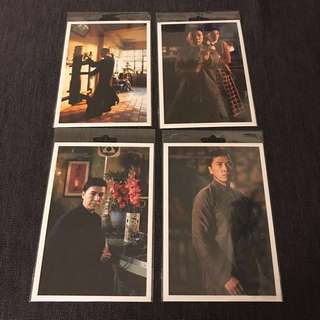 BN Yip Man movie postcards post cards