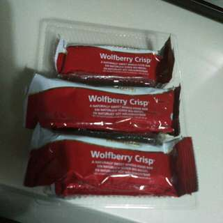 BN - Wolfberry Crisp whole food bar