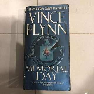 Novel/Book, Memorial Day - Vince Flynn