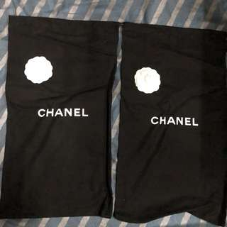 Chanel cloth bag for boots 30cmx50cm