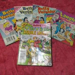 Archie's Digest (5 for 150)