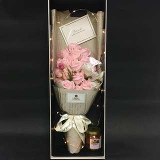 Le Fiori 法式粉紅玫瑰