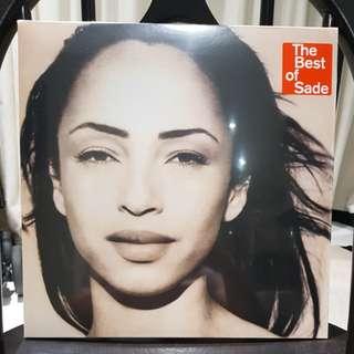 The best of Sade vinyl record 2 LP
