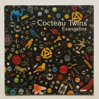 Cocteau twins original LP record