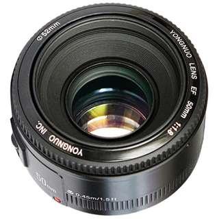 Yongnuo YN 50mm f/1.8 Lens (Canon EF Mount)