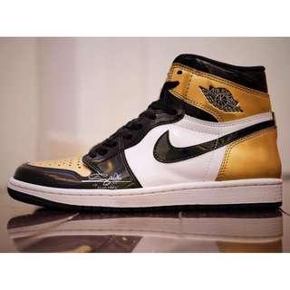 Nike Air Jordan 1 'Gold Toe'