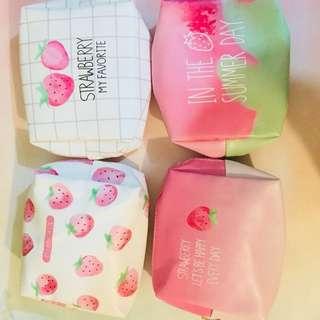 草莓化妝包