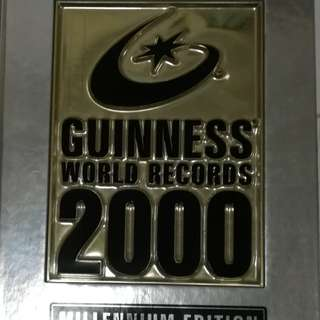 GUINNESS BK OF WORLD RECORDS 2000 & 2001 MILLENIUM EDITION