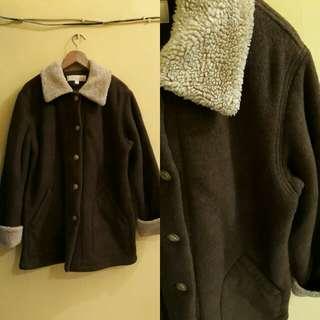 coat / jacket bulu tebal
