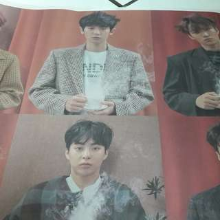 EXO POSTER GROUP UNIVERSE