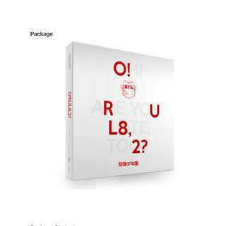 (Ready to ship) O! RUL8, 2 - BTS