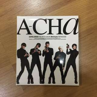 Super Junior 5th Album Repackage (A-Cha)