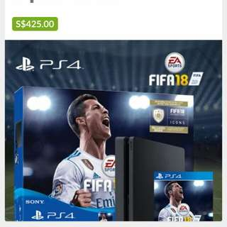 """PlayStation®4 """"FIFA 18"""" Bundle With PS4™ Console (500G)"""