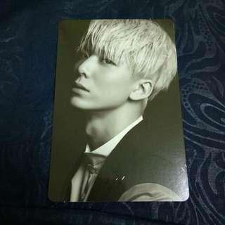 SF9 Hwiyoung Burning Sensation Photocard