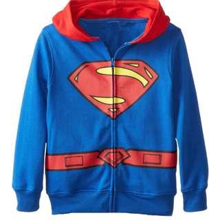Superman jacket with hood