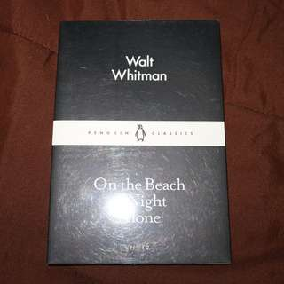 On the Beach at Night Alone by Walt Whitman (Penguin Classics)