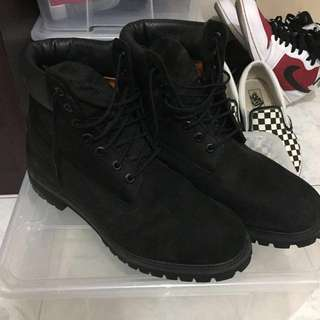 Timberland Classic 6 Inch Boots Black