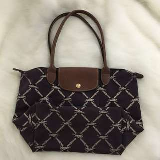 Authentic Longchamp Violet Bag