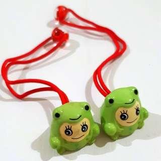 🚚 小青蛙髮飾 #髮飾買5送1