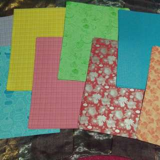 80sheets of Printed Colored Paper