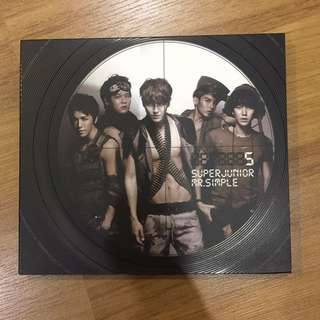 Super Junior Mr Simple Album