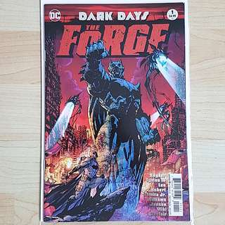 DC Comics Batman Dark Days Metal The Forge One Shot Near Mint Condition First Print