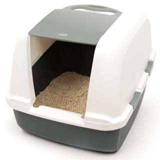 Cat Hooded Jumbo Litter Box