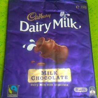 Cadbury Family Blocks 350g - milk chocolate