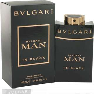 Bvlgari in black for man EDT