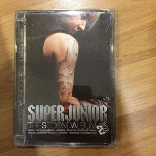 Super Junior 2nd Album Dont Dont