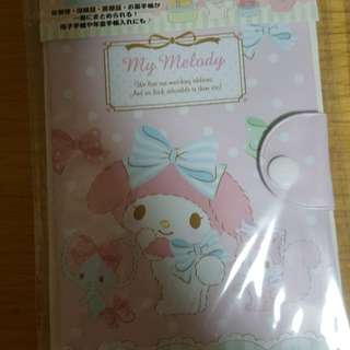 BN My Melody / Little Twins Star healthbook card case