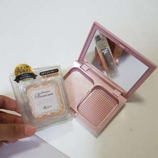 Ettusais premium chiffon foundation and case
