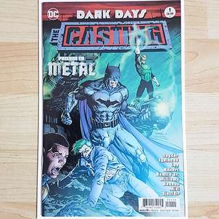 DC Comics Dark Days The Casting One Shot Near Mint Condition Prelude to Metal First Print