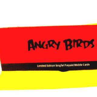 Angry Birds limited Singtel Prepaid Mobile Cards