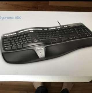 Microsoft Ergonomic wired keyboard 4000