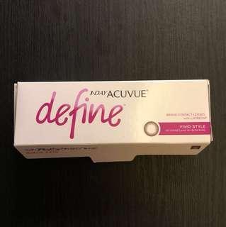 1 Day Acuvue Define — -5.00