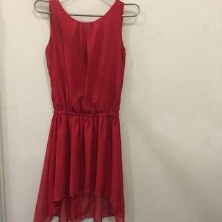 SM Red dress
