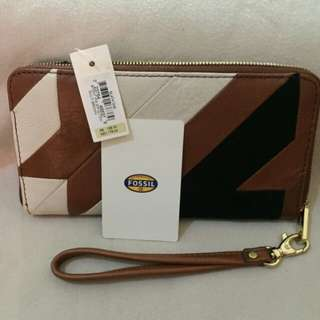 New Fossil Brown Wallet
