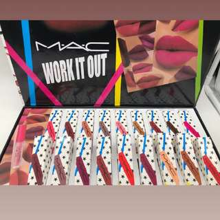 Mac Lipstick Set