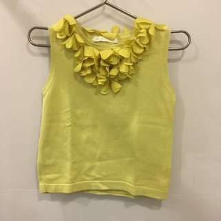 Gingersnaps Yellow top