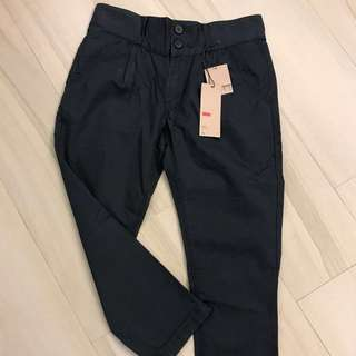 "Levi's women's pants 30""腰 navy"