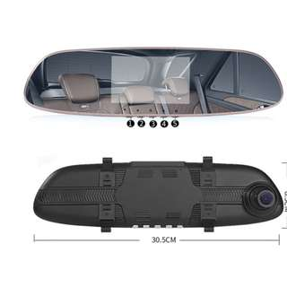 Dash Cam,5.0″ Full HD 1080P 150 Wide Angle Dual Dashboard Camera