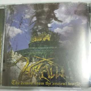 Music CD (Metal): Arallu–The Demon From The Ancient World