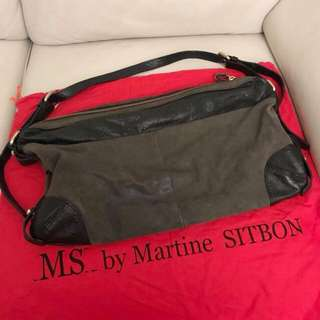 MS by Martine Sitbon washed reptile leather bag