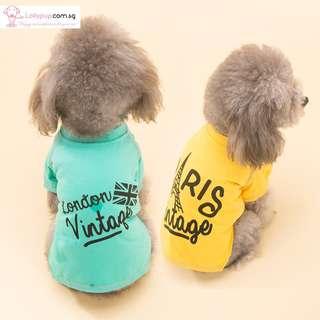 Pet Dog Cat Shirt