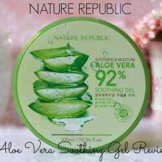 Authentic Nature Republic Aloe vera
