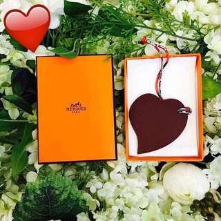 (New) Hermes 心心掛飾 Sweet heart charm