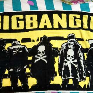 BIGBANG 10 YEARS ANNIVERSARY TOWEL