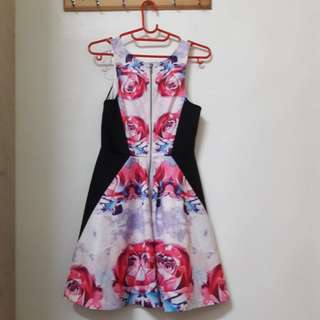 Floral Dress by Lucy in the Sky