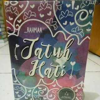 Novel  Jatuh Hati By Rahmaa
